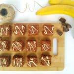 Browniji z banano in kokosom