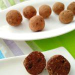 Čokoladne kroglice s kremnim sirom
