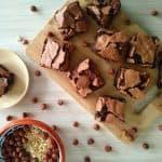Browniji z lešniki (brez moke)