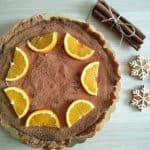 Čokoladna pita s pomarančnim želejem
