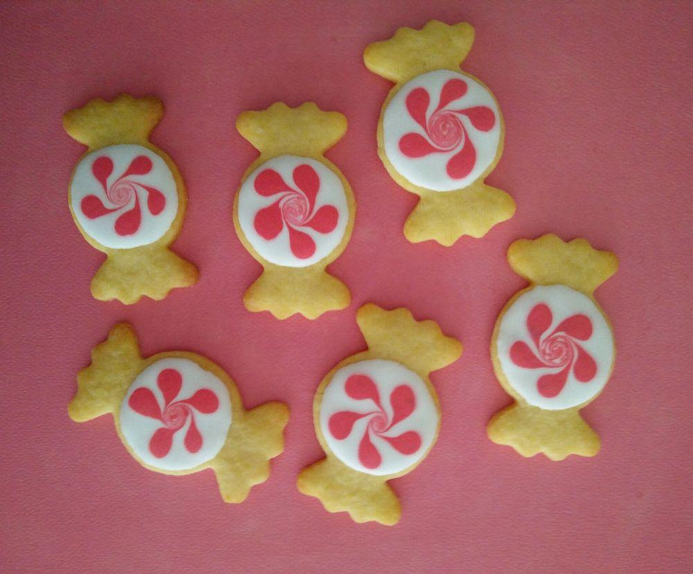 Royal icing Candies