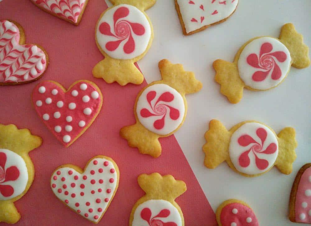 Pink cookies, 2017