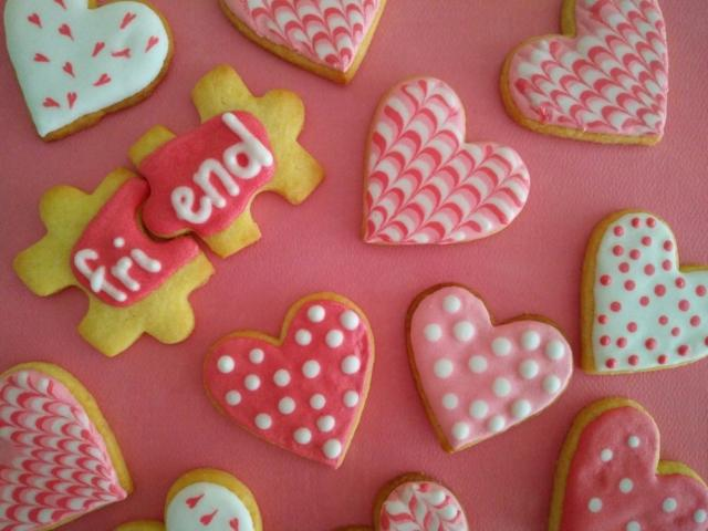 Royal icing Friends forever - Puzzle