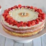Jagodno-vanilijeva torta
