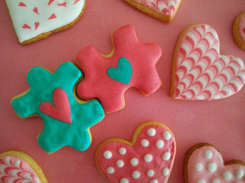 Love Puzzle Cookies 2017