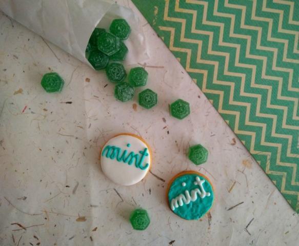 Mint Cookies
