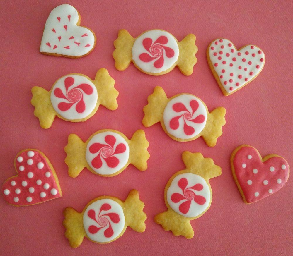 Pink Sugar cookies, 2017