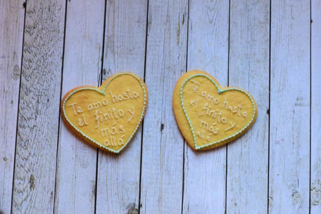 Wedding cookies - quote, 2017