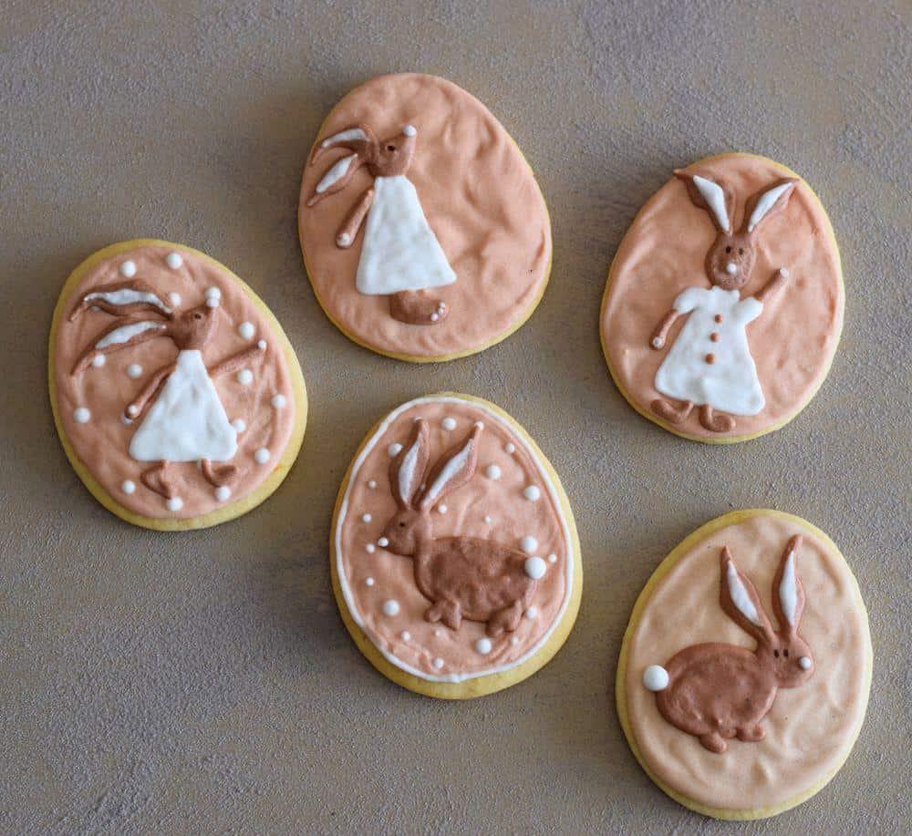 Easter eggs - cookies, 2017