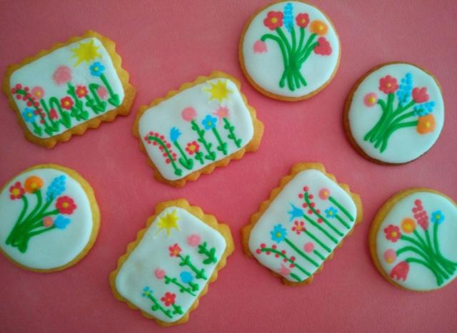 Spring Royal icing Cookies 2017