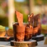 Čokoladno-marelična sladica v kozarcu alla Sacher