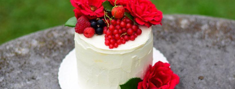Torta mascarpone-gozdni sadeži - brez jajc